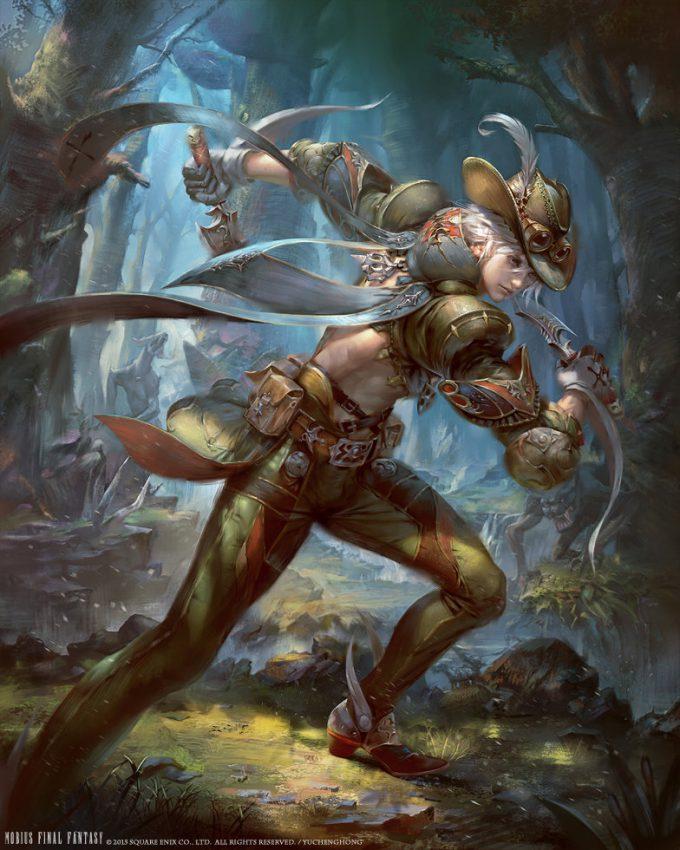 yu cheng hong mobius final fantasy hunter