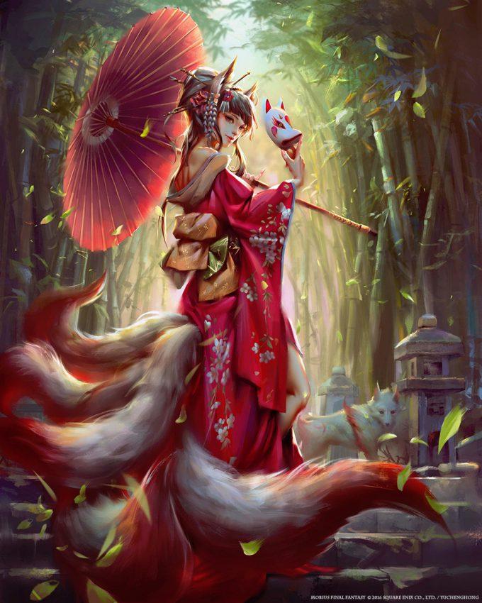 yu cheng hong mobius final fantasy tamamo no mae
