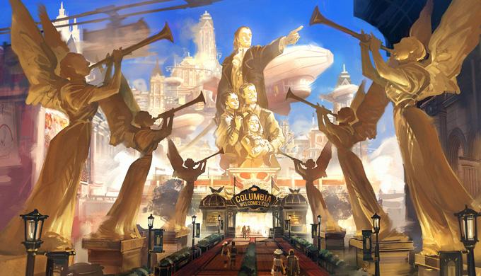 Bioshock_InfinBioshock: Infinite Concept Art by Ben Lo
