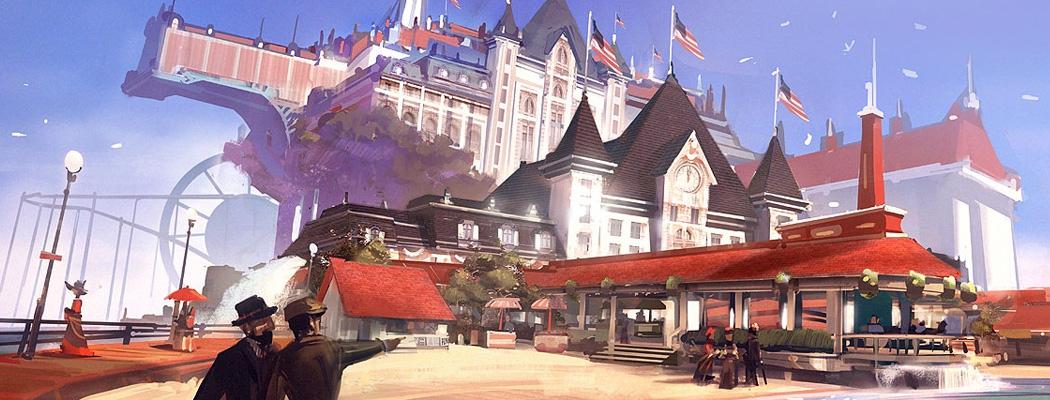 Bioshock Infinite Concept Art Ben Lo MA01