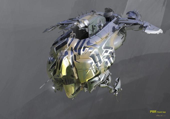 Colie Wertz Concept Art Design