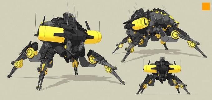 Darren_Bartley_Mech_Concept_Sketchup_01