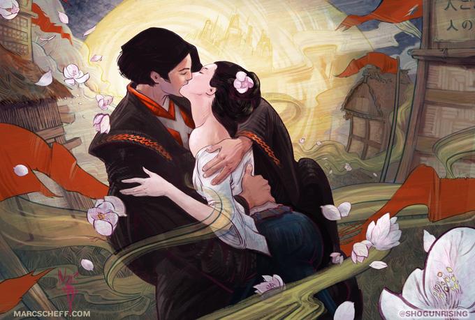 Shogun Rising Concept Art