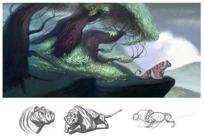 Stephanie Olesh Illustration