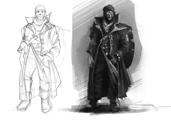 The Realm Game Concept Art