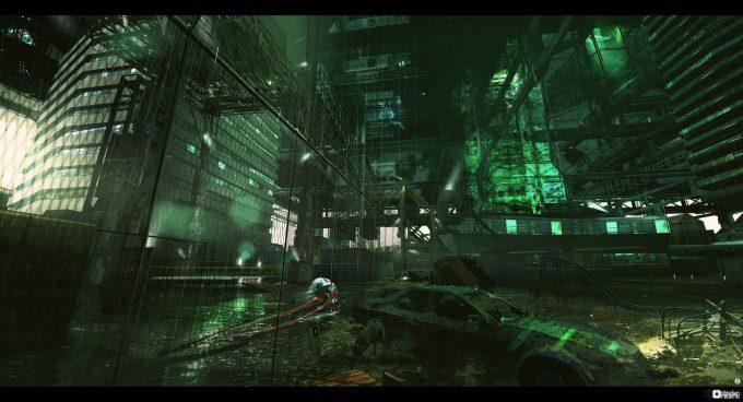 Brad_Wright_Obsidian_Reverie_Concept_Art_Inner_City_Block_Cargo_Loading