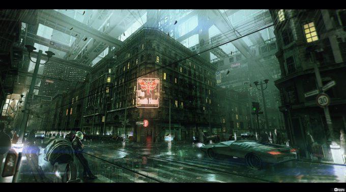 Brad_Wright_Obsidian_Reverie_Concept_Art_Inner_City_Block_Mood