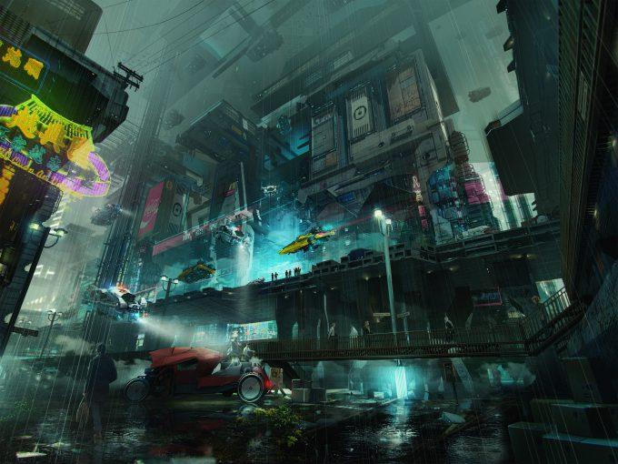 Brad_Wright_Obsidian_Reverie_Concept_Art_New_City_Block