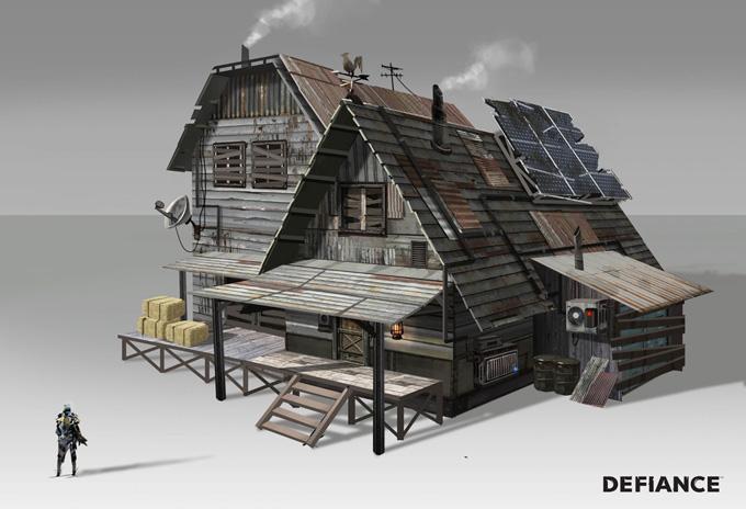 Defiance Concept Art by Danny Pak