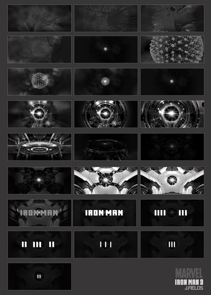 Iron Man 3 Concept Art and Production Designs by Justin Goby Fields