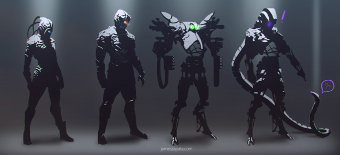 James Zapata Concept Art and Illustration