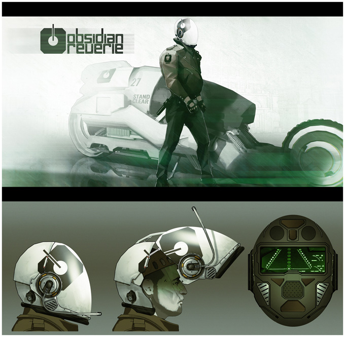 Obsidian Reverie Concept Designs by Bradley Wright