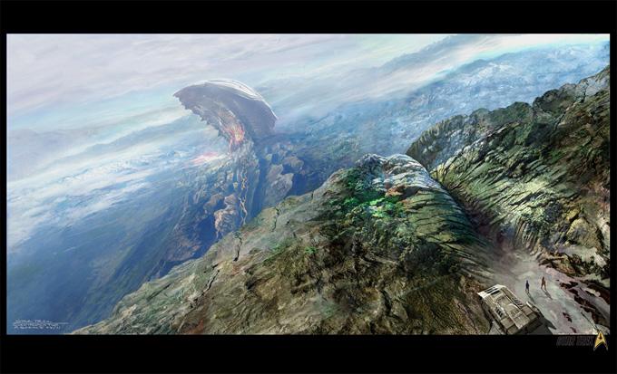 Star Trek Game Video Concept Art by Mike Sebalj