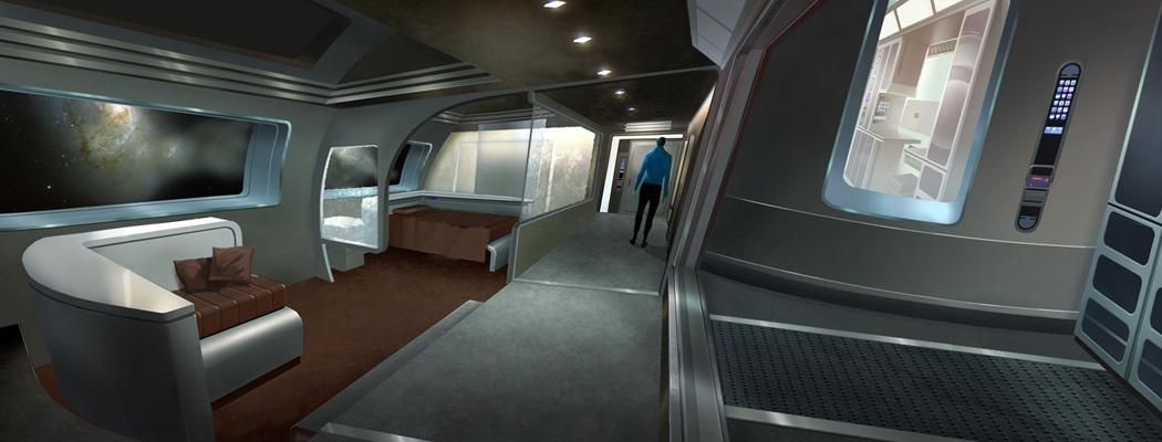 Star Trek Concept Art Mike Sebalj MA01