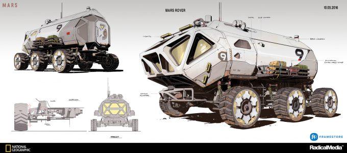 oscar cafaro concept art rover