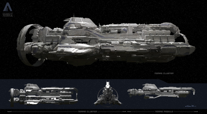 After Earth Concept Designs by Colie Wertz