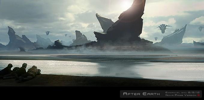 After Earth Concept Art by Emmanuel Shiu