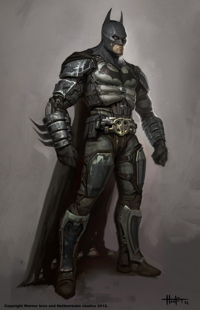 Injustice: Gods Among Us Concept Art by Hunter Shulz