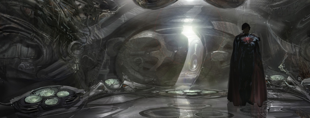 Man of Steel Concept Art CLS MA03