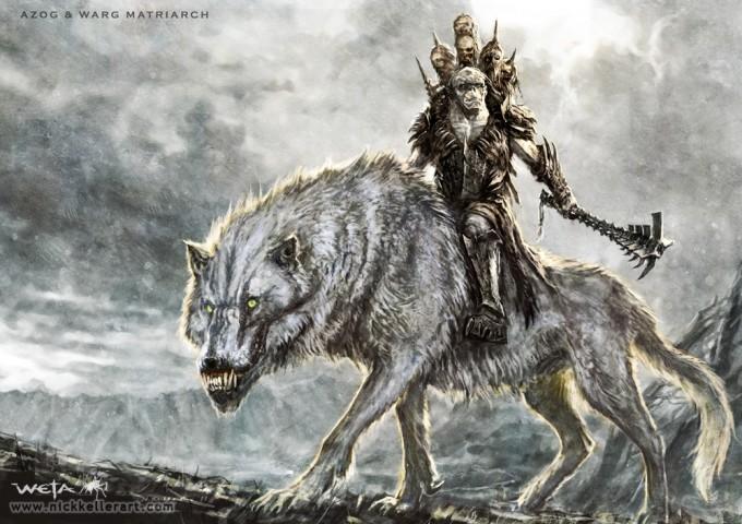 The_Hobbit_An_Unexpected_Journey_Concept_Art_NK_Azog_WargMatriarch