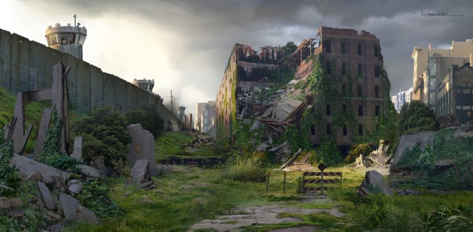 The_Last_of_Us_Concept_Art_Behind_The_Wall_Town_Church_AL-01