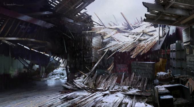 The_Last_of_Us_Concept_Art_Collapsed_Shack_Interior_AL-01