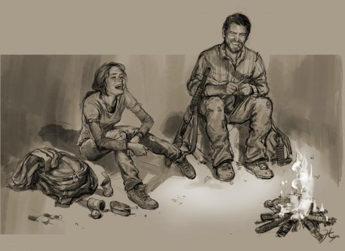 The_Last_of_Us_Concept_Art_Joel_Ellie_Campfire_HN-01