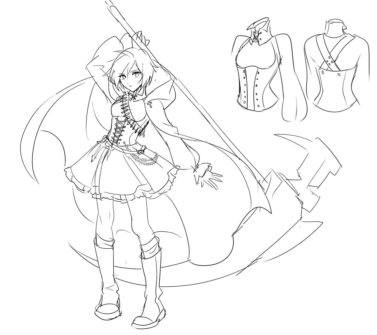 Rwby Coloring Pages