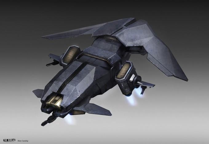 17-TheBureau_XCOM_Concept_Art_SamBrown_AlienGunship