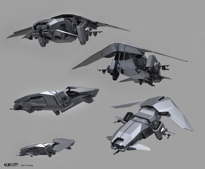 18-TheBureau_XCOM_Concept_Art_SamBrown_AlienGunship
