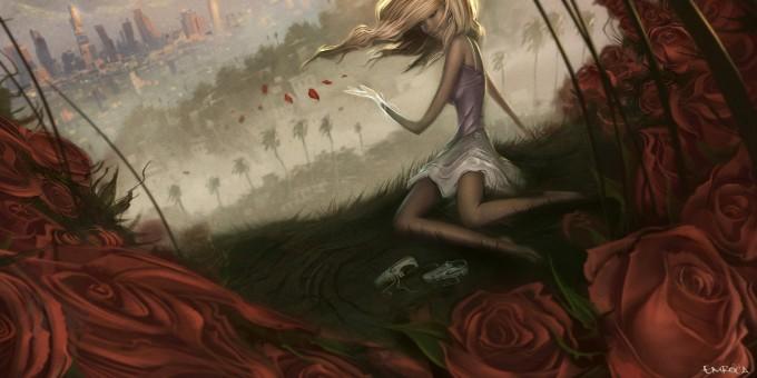 Jose_Emroca_Flores_Art_Illustration_Roses