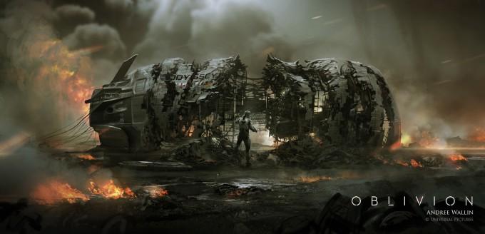 Oblivion_Art_Veh_Odyssey_111011_CrewModuleCrash_sideview1_Version06_AW