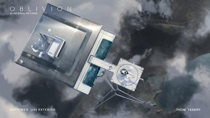 ThomTenery_Oblivion_Concept_Art_Skytower_ExteriorBubbleship