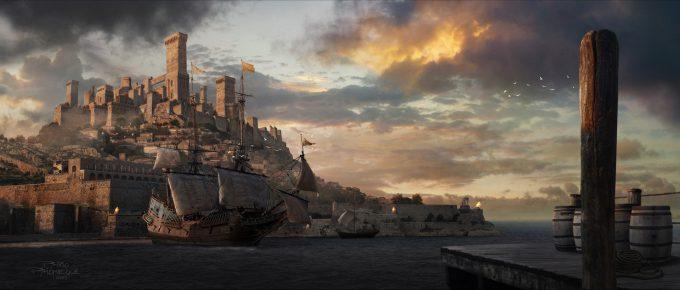pablo palomeque medieval harbor