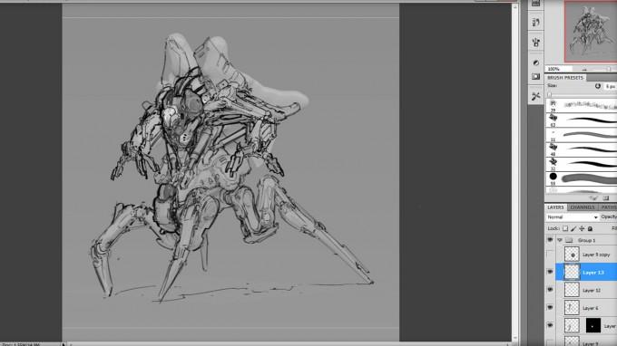 Cyborg_Design_Concept_Art_Production_Techniques_02