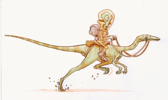 Dinosaur_Concept_Art_01_Jake_Parker