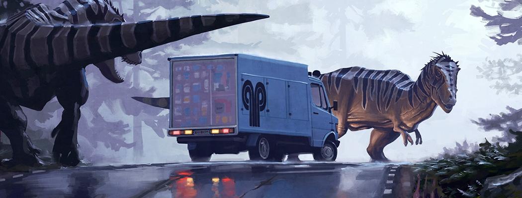 Dinosaur Concept Art MA02