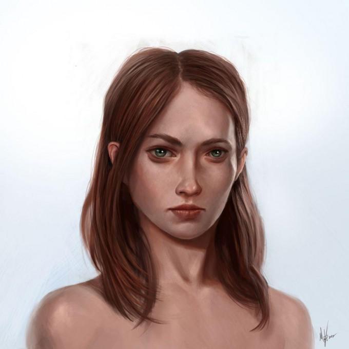 Michal_Kus_Art_femalefacestudy41