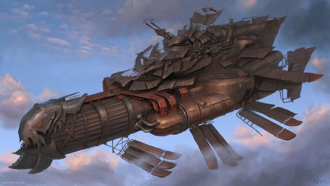 Michal_Kus_Art_marauder-airship