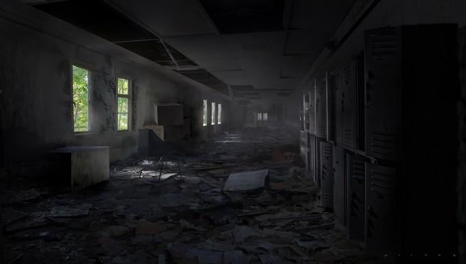 Victor_Mosquera_Art_zombie_hallway