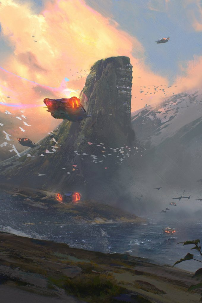 victor mosquera concept artist too like the lightning