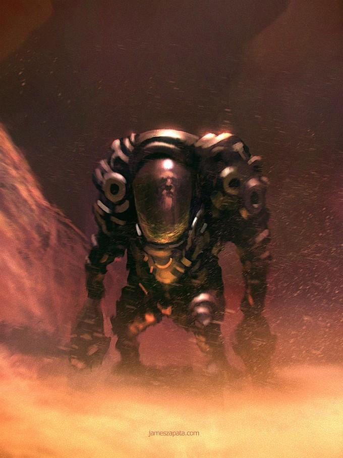 Space_Astronaut_Concept_Art_01_James_Zapata
