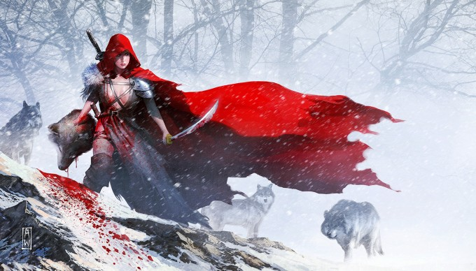 Admira_Wijaya_Art_Red-Riding-Hood