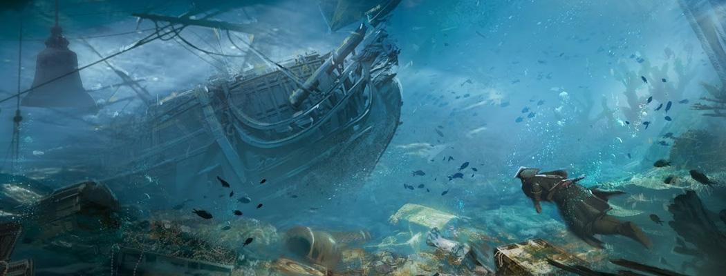 Assassins Creed IV Black Flag Concept Art DY MA01