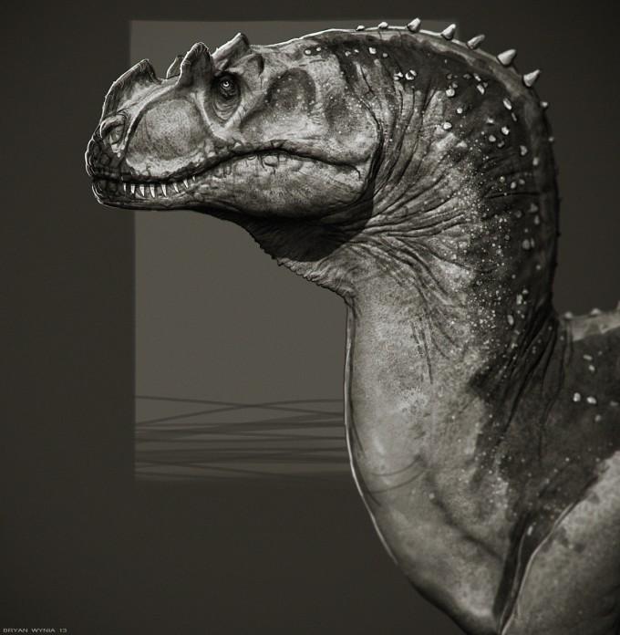 Bryan_Wynia_Art_Ceratosaurus_Study