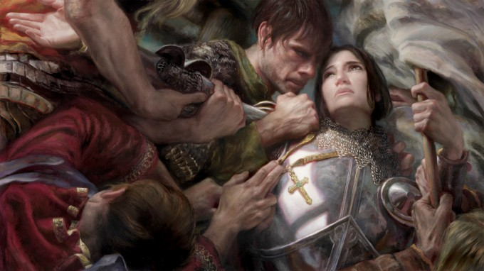 Painting_Joan_of_Arc_with_Donato_Giancola_01