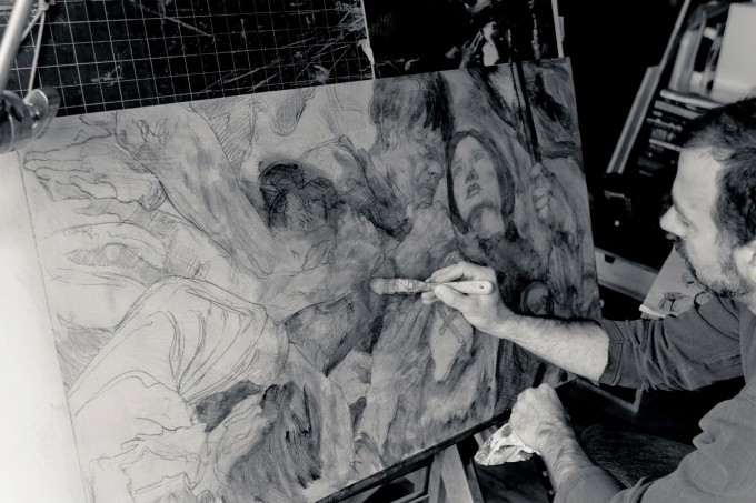 Painting_Joan_of_Arc_with_Donato_Giancola_04