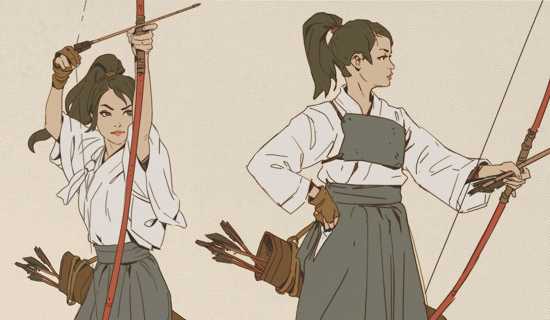 mitch mohrhauser concept art archer girltest3