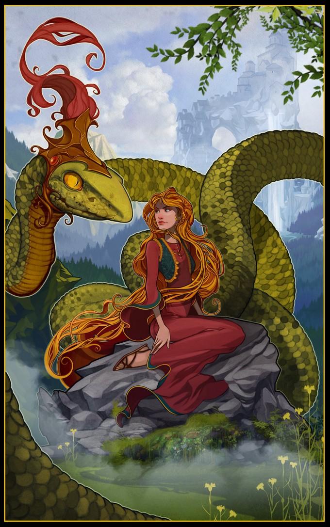zmija-mladozenja