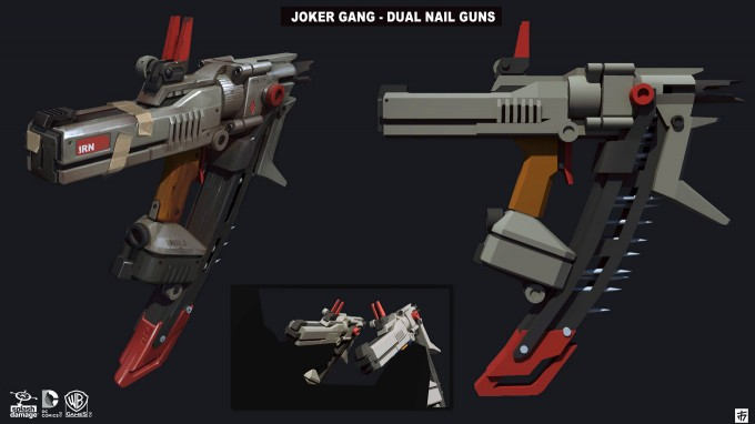 Batman_Arkham_Origins_Concept_Art_GS_Arsenal_DualNailGuns_01